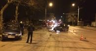 На Авиационной по очереди столкнулись несколько автомобилей