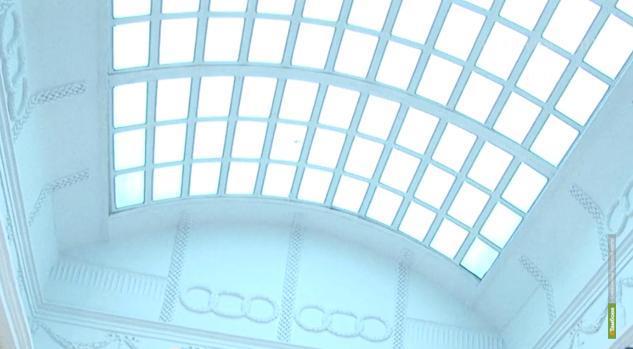 Усадьбе Асеева вернули стеклянный купол