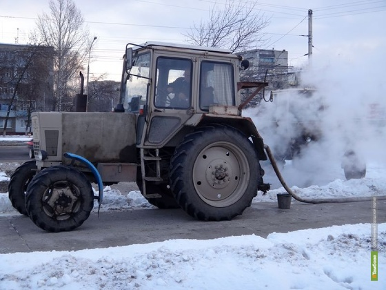 В минувшие выходные в Тамбове произошли 4 коммунальные аварии