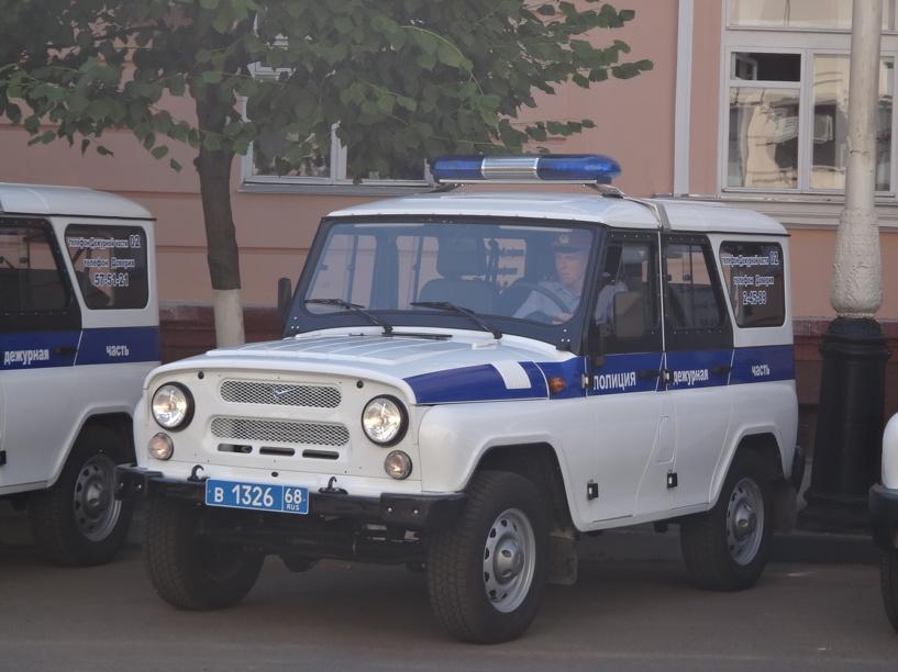 На севере Тамбова молодой парень избил и ограбил двоих прохожих