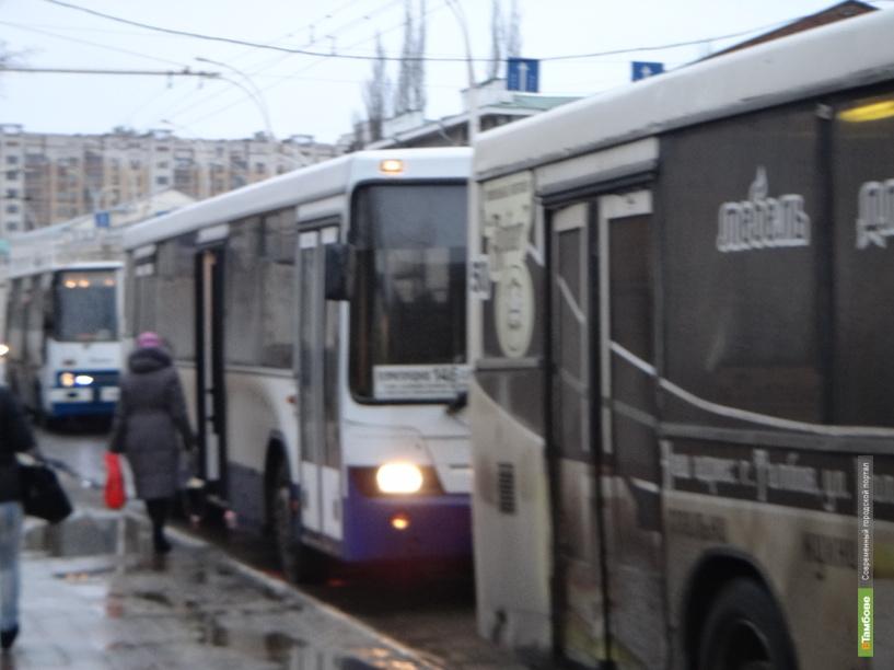 В Тамбове водители автобусов всё чаще становятся виновниками ДТП