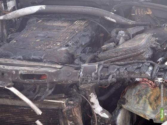 На Тамбовщине на выходных горели два автомобиля
