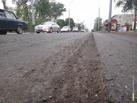 На Мичуринской срезали более километра асфальта