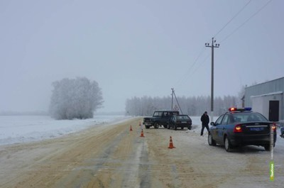 "На М-6 ""Каспий"" столкнулись два авто"