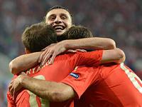 Сборная России по футболу разгромила чехов на Евро-2012