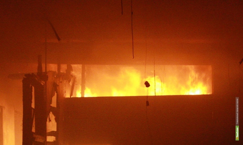 В Кирсановском районе при пожаре погиб мужчина