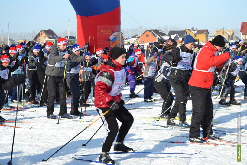 Спортсмены региона встали на «Лыжню Притамбовья»