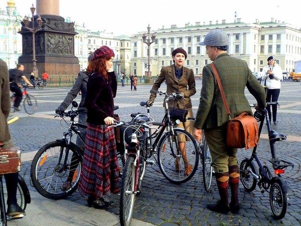 А как у них: Петербург велосипедный
