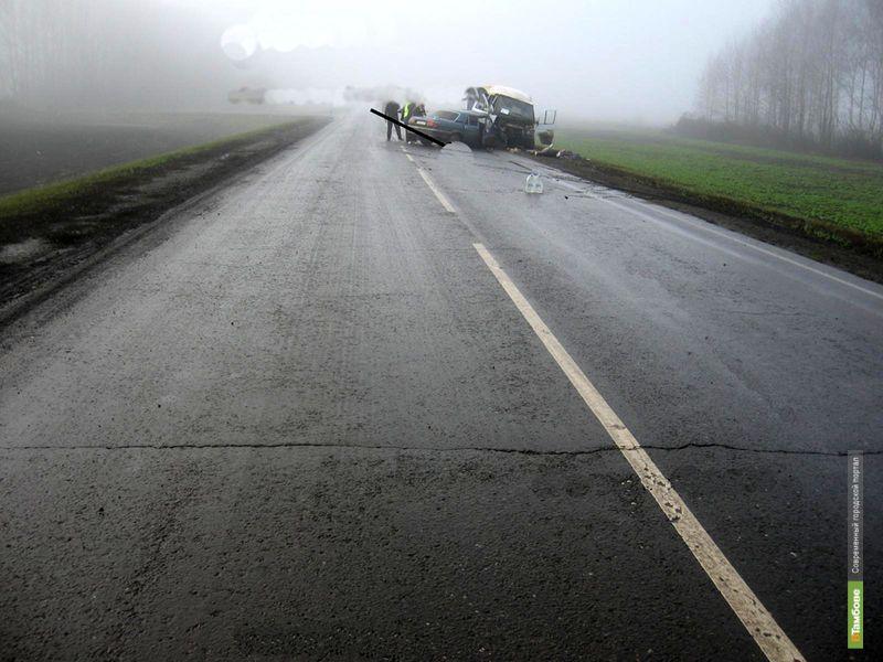 За неделю на дорогах Тамбовщины погибли 2 человека