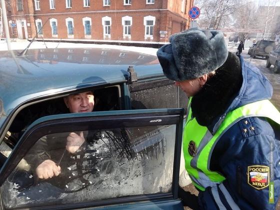 Тамбовские автоинспекторы оштрафовали 19 «нерадивых» родителей
