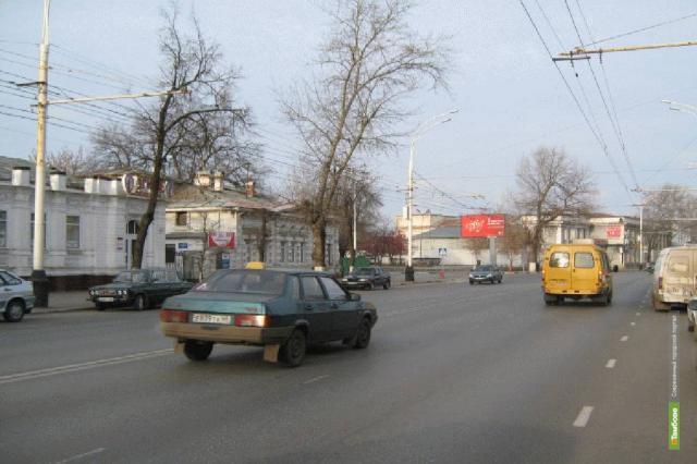 Рекламы в историческом центре Тамбова станет меньше
