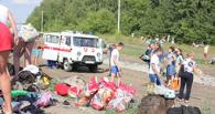 На трассе под Тамбовом горел пассажирский автобус