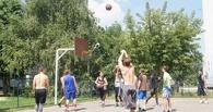 В Тамбове в пятый раз состоялись соревнования по уличному баскетболу