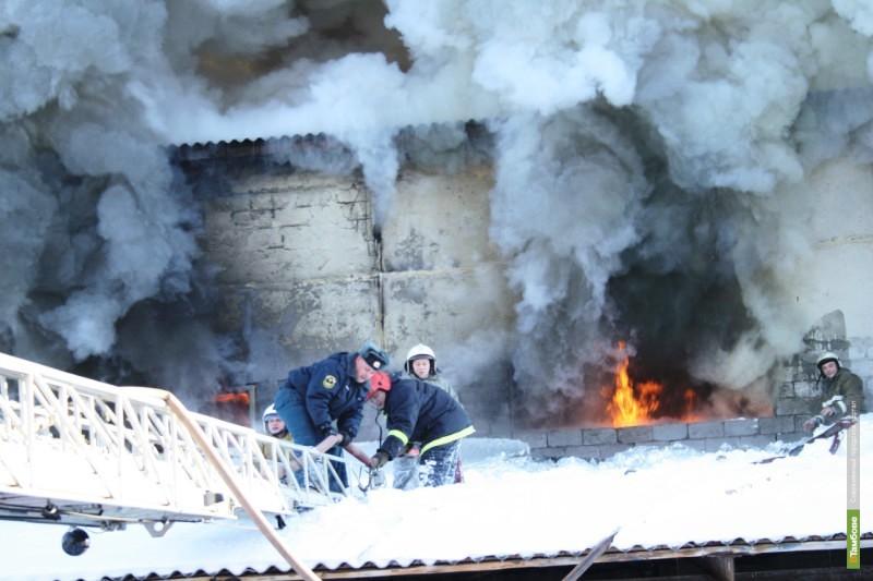 На Тамбовщине в огне погиб пенсионер