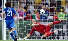 Англичане не смогли обыграть итальянцев на Евро-2012