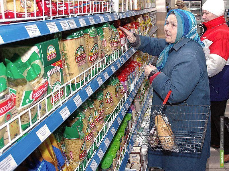 Тамбовские цены ползут вверх