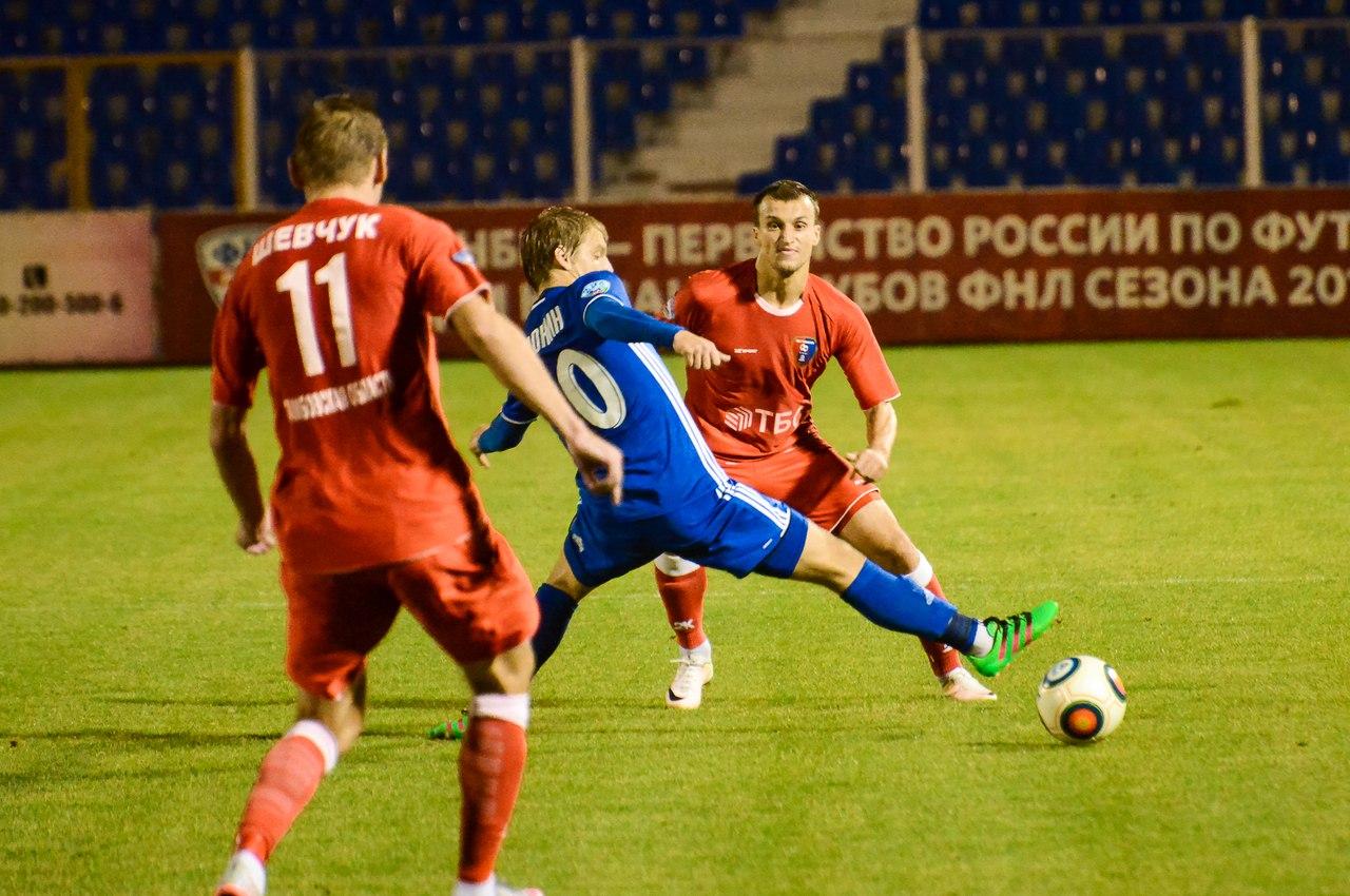 «Тамбов» обыграл «Волгарь», «Нефтехимик» и«Сокол» поделили очки вФНЛ