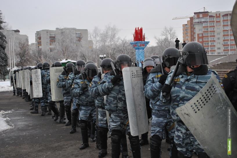 Тамбовчан в новогоднюю ночь будут охранять полицейские и военные