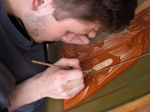 У тамбовчан появилась возможность попасть на мастер-класс по иконописи