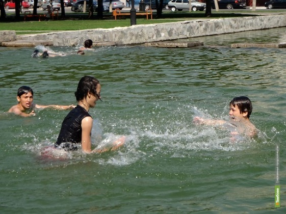 В Тамбов пришла аномальная жара