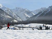 Баварские Альпы может накрыть снежная лавина