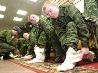 Армия встала на защиту портянок