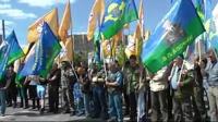 В Москве прошел митинг в поддержку Леонида Хабарова
