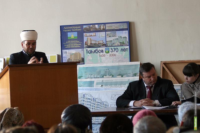 Проблема строительства мечети вышла за пределы Тамбова
