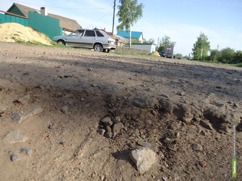 Жители тамбовских Пушкарей просят построить в селе дорогу