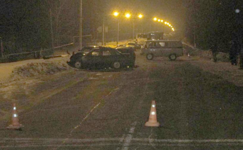 В Уварово столкнулись три машины