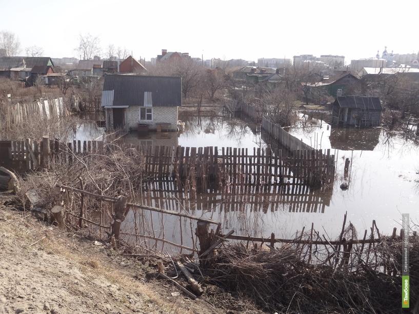 Военные помогут тамбовчанам бороться с последствиями паводка