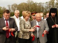 В Гавриловском районе открыли мемориал в память о погибших солдатах