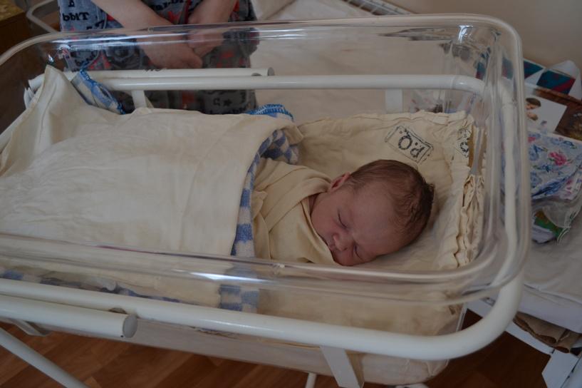 Переселенка из Украины родила в Тамбове сына