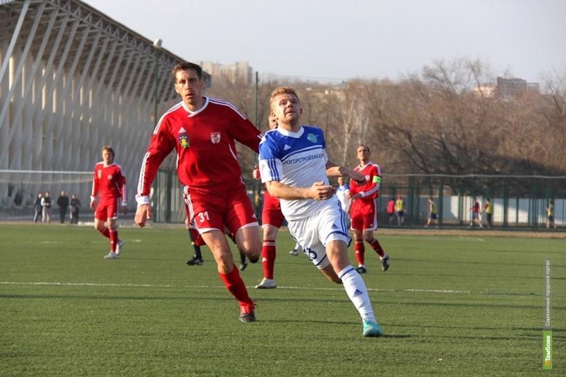 Тамбовский «Спартак» открыл игровой год проигрышем