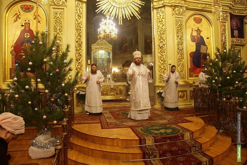 Тамбовчане встретили праздник Рождества
