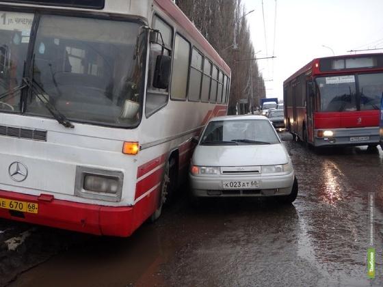 Автоинспекторы объявили охоту на нерадивых водителей общественного транспорта Тамбова