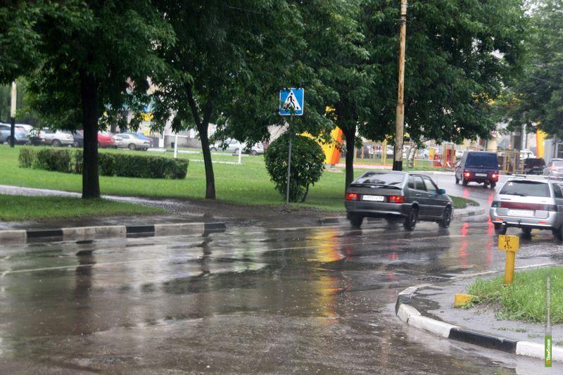 МЧС просит тамбовских автомобилистов не сильно гнать по мокрым дорогам
