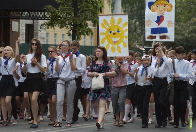2,5 тысячи юных тамбовчан пройдут парадом по площади Ленина