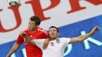 Сборная России забила один гол и обыграла сербов в Москве