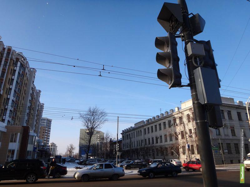 Автоинспекторы предложили установить в Тамбове ещё 46 светофоров