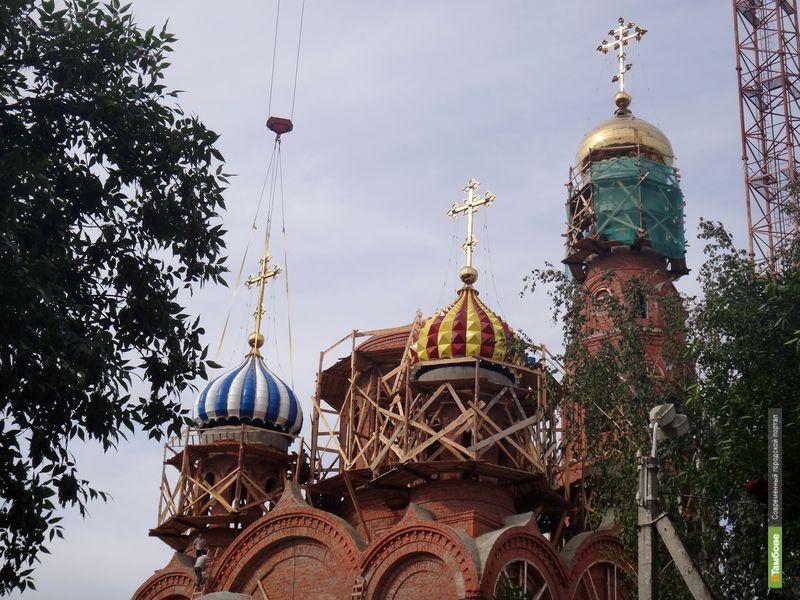 Вознесенский храм в Тамбове примет первых прихожан через 2 года