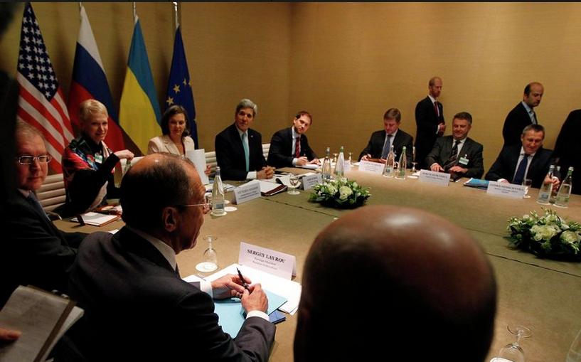 Мировые политики договорились, как решить кризис на Украине