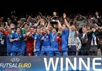 Сборная России по мини-футболу проиграла Италии в финале чемпионата Европы