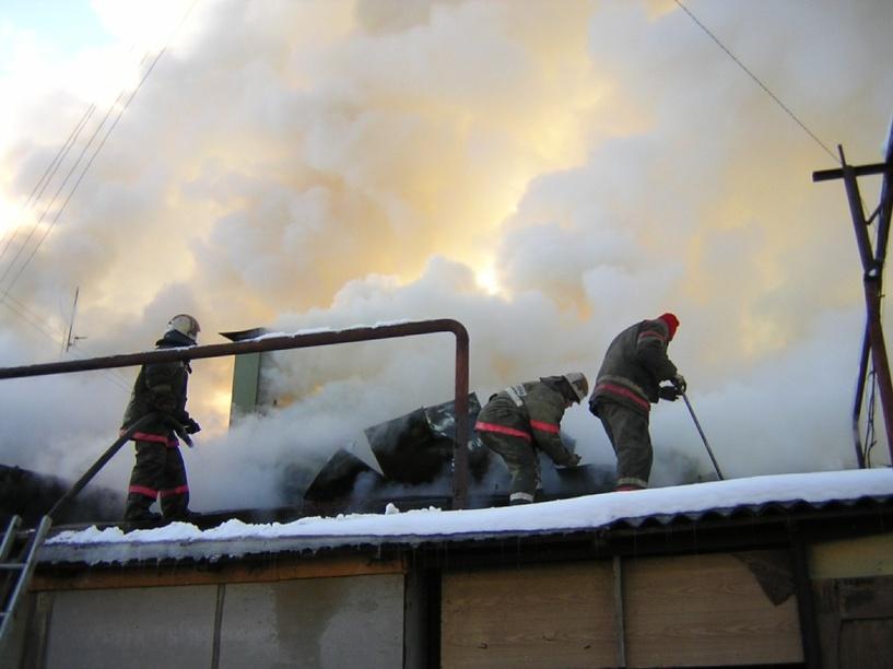 На заводе «Пигмент» произошел пожар