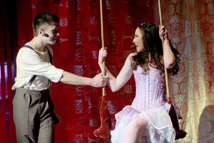 В Тамбове состоялась премьера мюзикла «Цирк Судьбы»