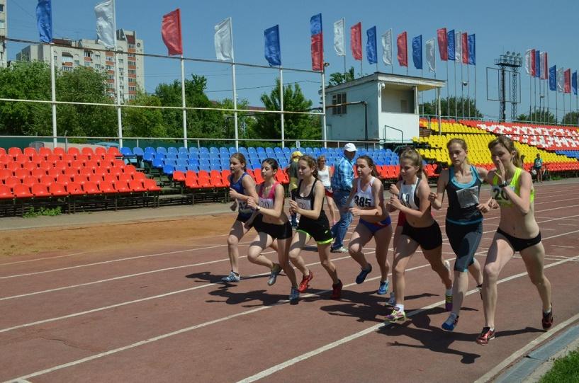 Тамбовские легкоатлеты поедут на первенство ЦФО