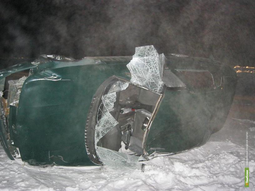 Под Мичуринском в кювет угодил водитель без прав