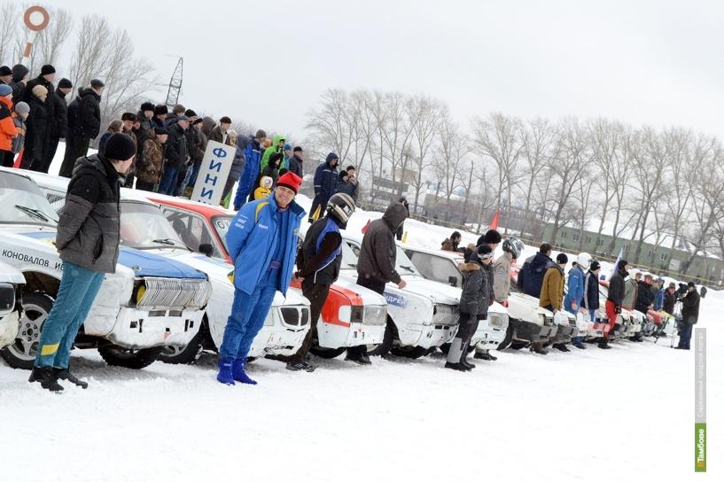 Трековые гонки на кубок города прошли в Тамбове