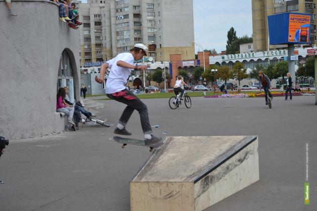 В Тамбове пройдут состязания скейтбордистов