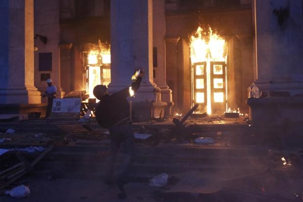 Жертвами столкновений в Одессе стали 37 человек